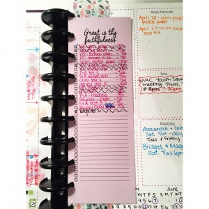 New Autumn Breezy Planner Quote-To Do Divider
